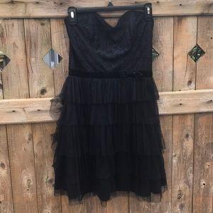 BLACK FORMAL DRESS SIZE M